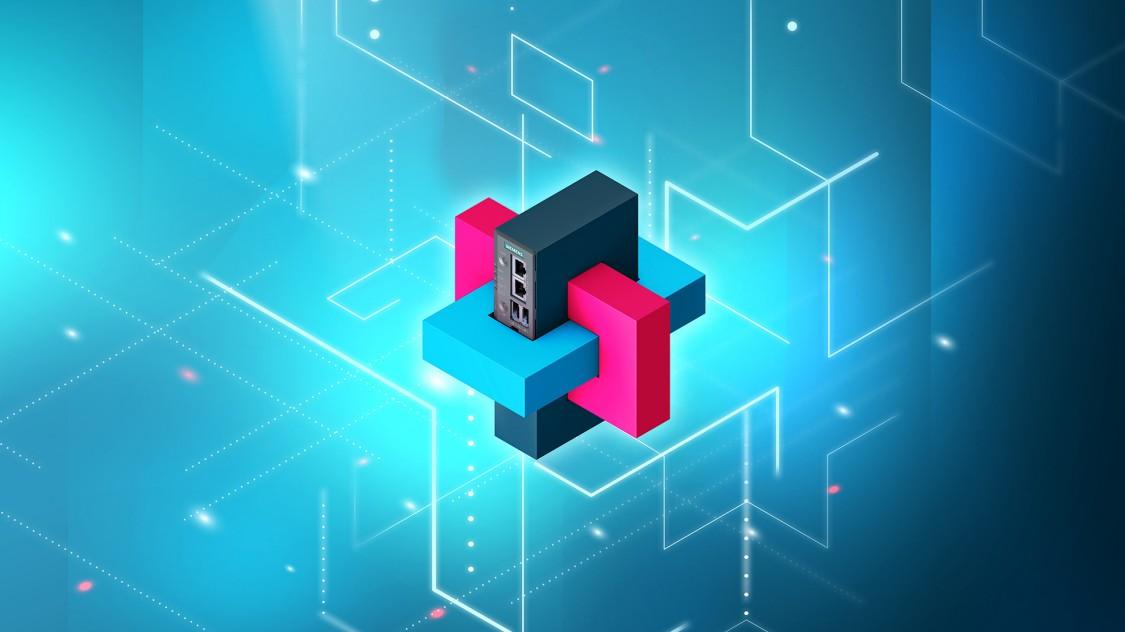 Icon für SIMATIC IOT 2050. Der IOT 2050 ist die Siemens Lösung für Open-Source-Applikationen in der Ausbildung