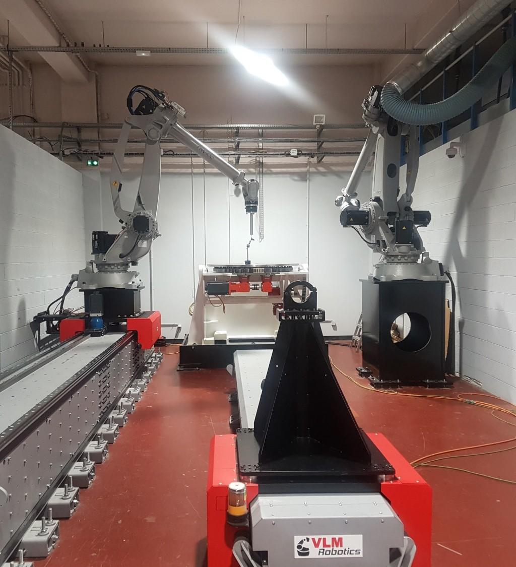 cellule Gemini : standard bi-robots XXL, axes linéaires et vireur 18 axes