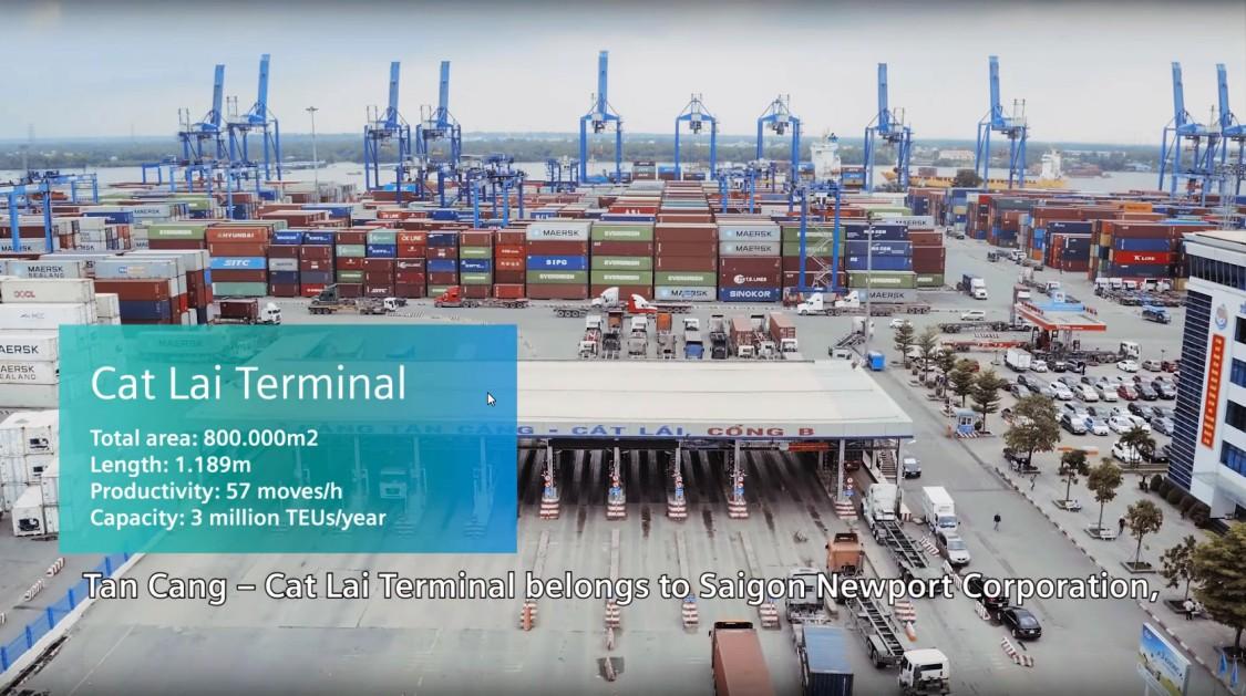 Один из крупнейших вьетнамских операторов терминалов полагается на технологию SIMOCRANE в масштабном проекте модернизации кранов