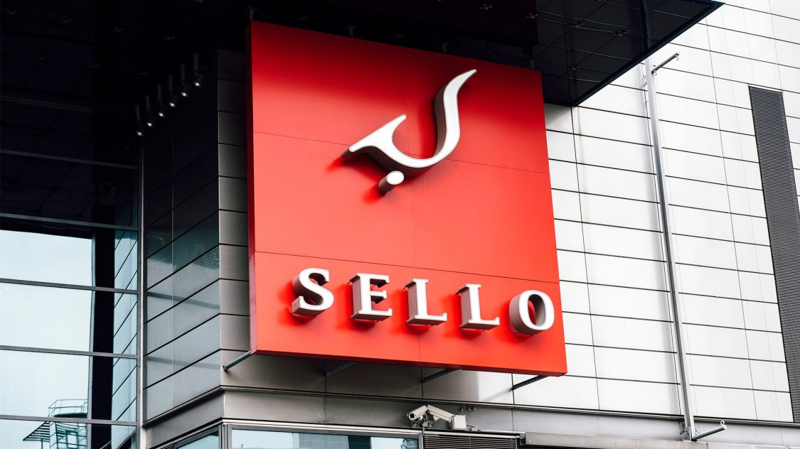 Image of front of Sello Finland shopping center