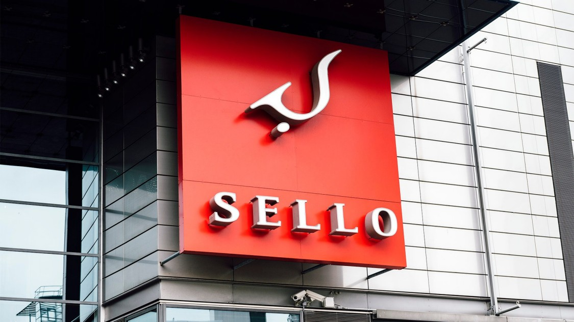 Sello Shoppingzenter in Finnland