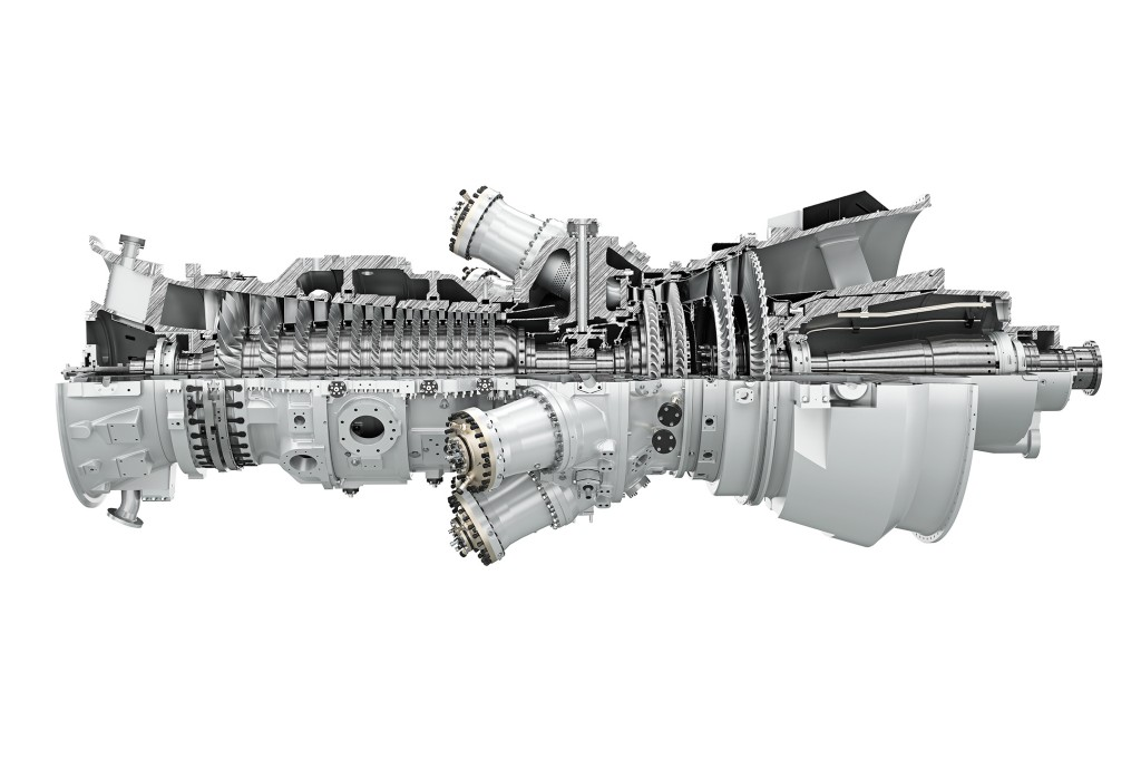 The SGT-750 gas turbine