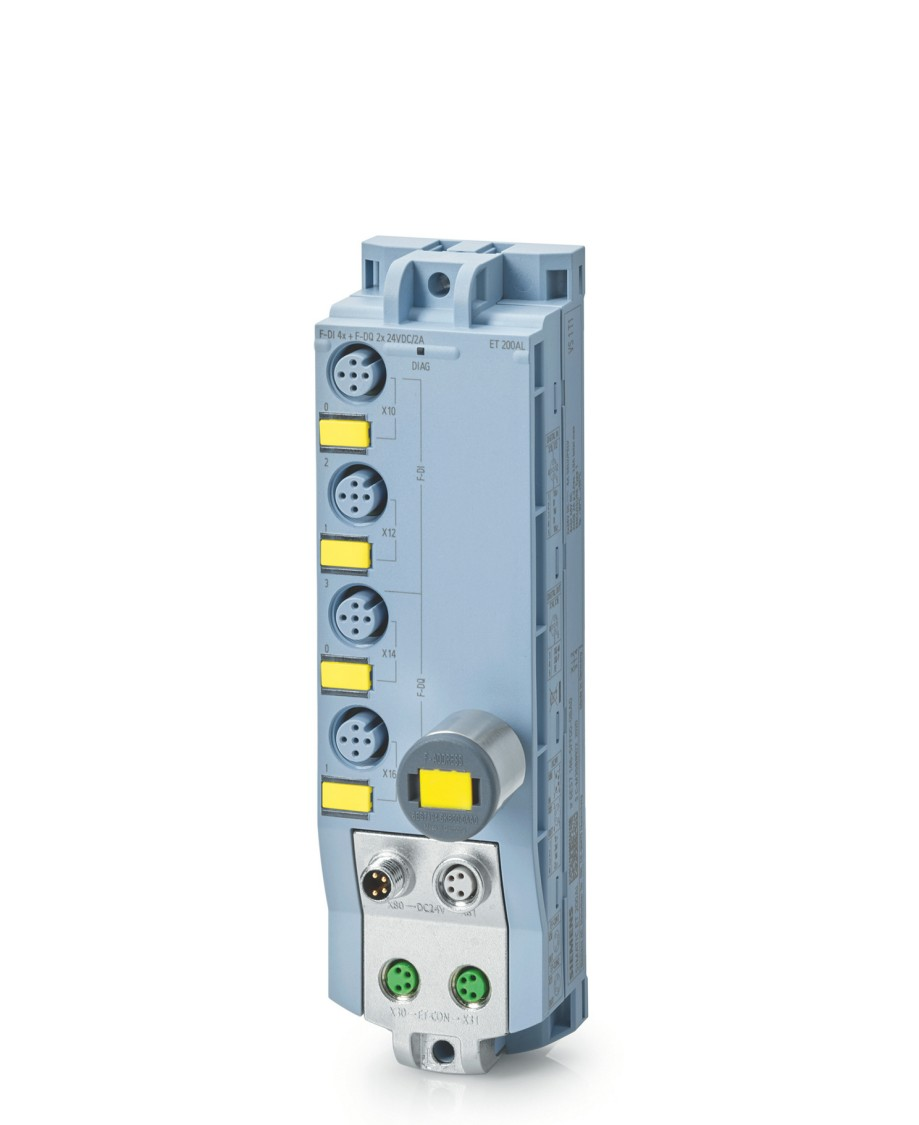 Nowy moduł ET200AL F-DI 4/F-DQ 2 pozwala zastosować moduły serii ET200AL w aplikacjach wymagających funkcji bezpieczeństwa.