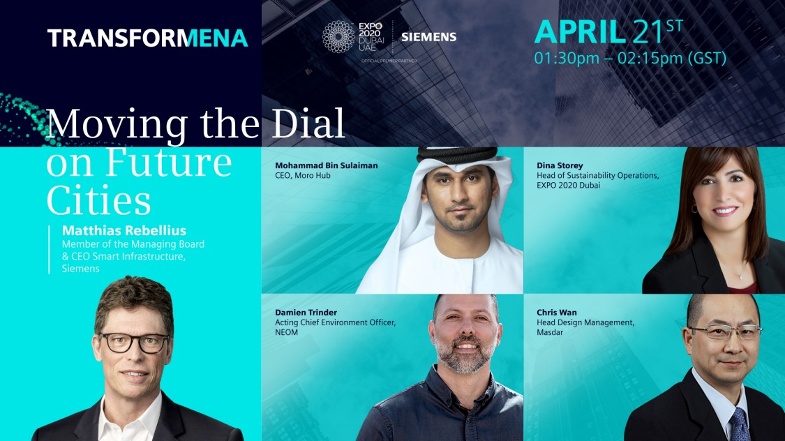 Transformena 2021: Moving the Dial on Future Cities