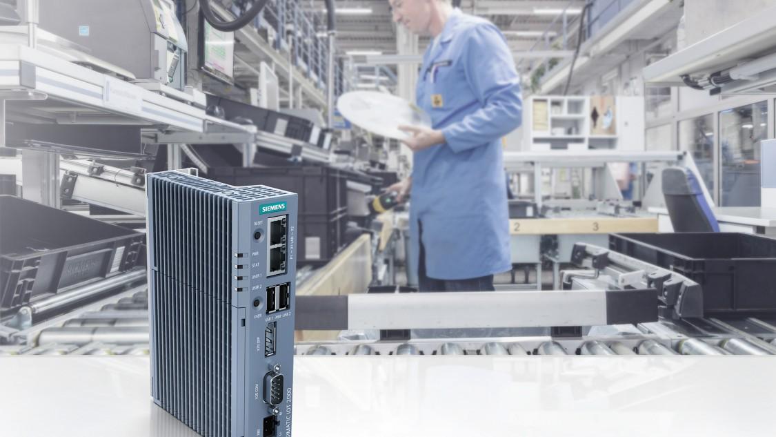 SIMATIC IOT2050 - A következő intelligens Gateway  IoT ipari megoldásokhoz