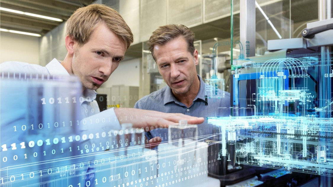 Digitalization of machine building