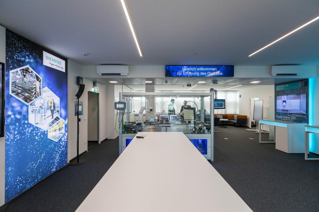 Opening Digi Lab Vienna, Österreich
