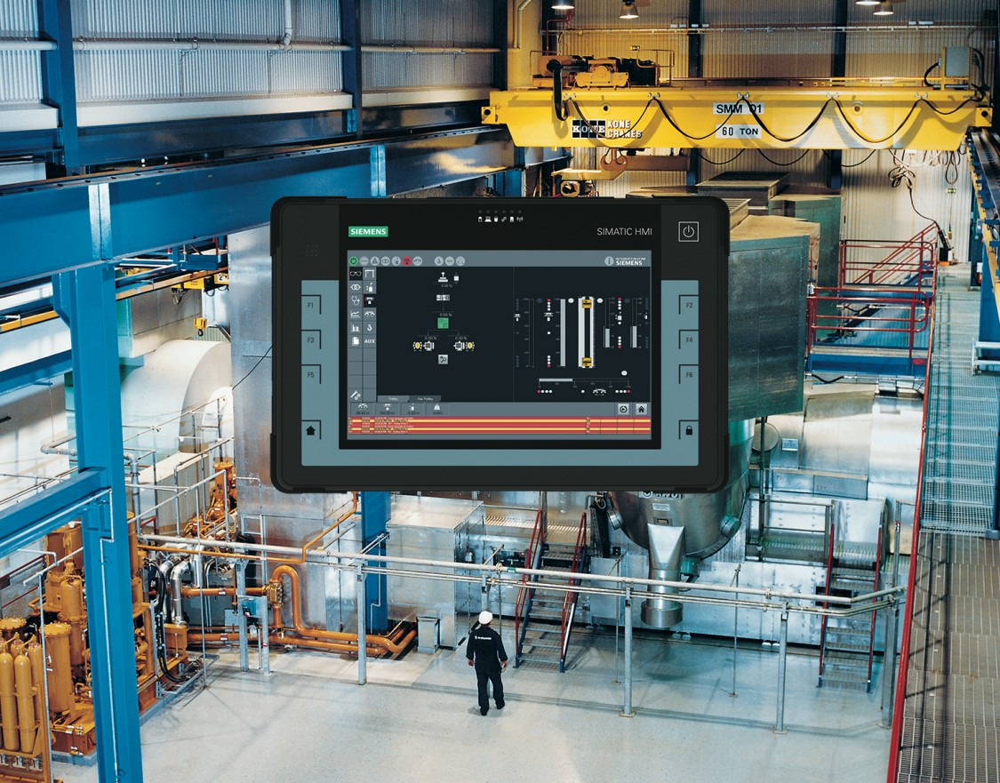 Key visual Industry Cranes Crane Management System