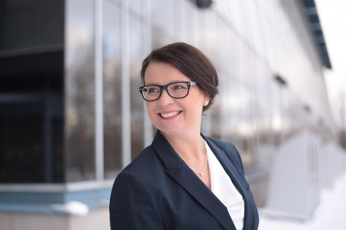Toimitusjohtaja Annikka Hurme on työskennellyt Valiolla pian 30 vuotta.