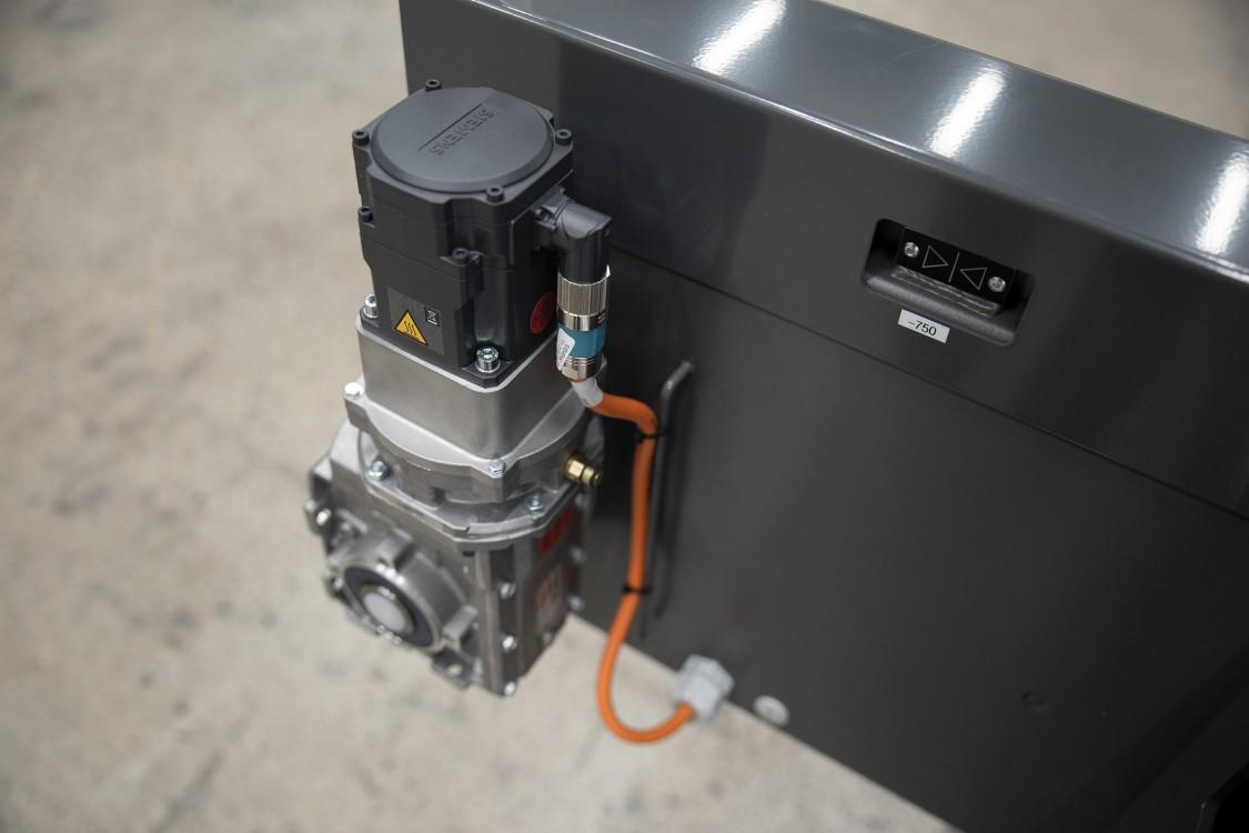 1FK2-servomoottorissa on yhden kaapelin teknologia.