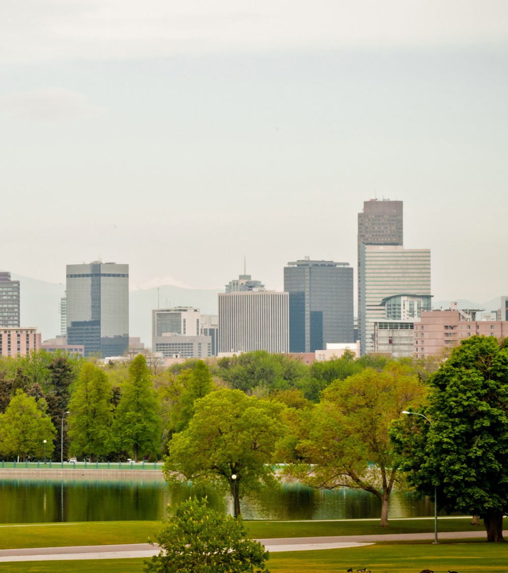 Denver is the capital of the U.S. western state of Colorado and is home to 2.6 million people in the larger metropolitan area. Local economic activity is dominated by transportation, telecommunications, aerospace, and manufacturing.