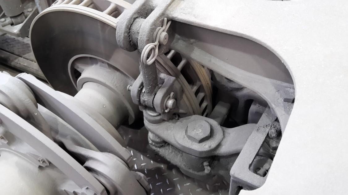 Bild einer Fahrzeugbremse aus additiver Fertigung