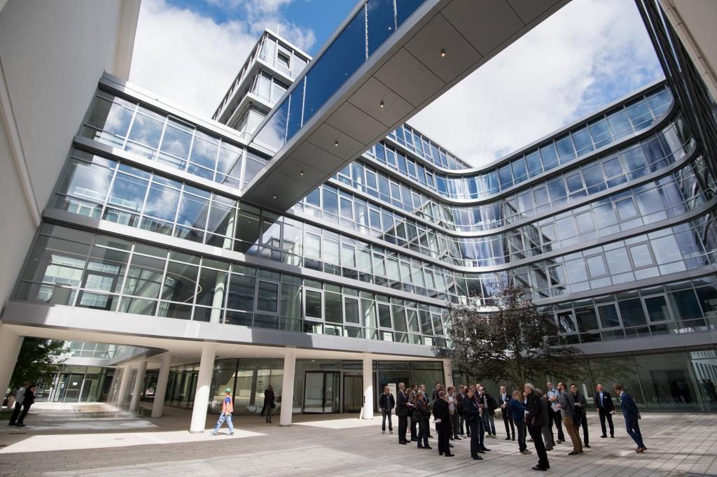 Erste Eindrücke aus der neuen Siemens Konzernzentrale