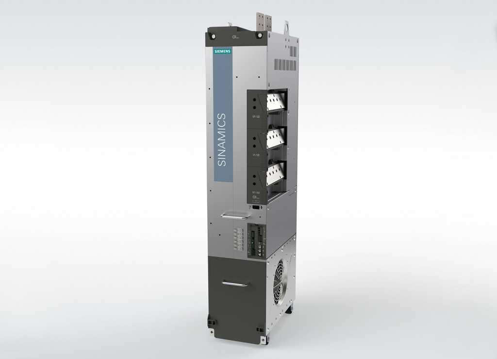 The new high-performance Sinamics S120 Chassis-2 converters are exceptionally durable.