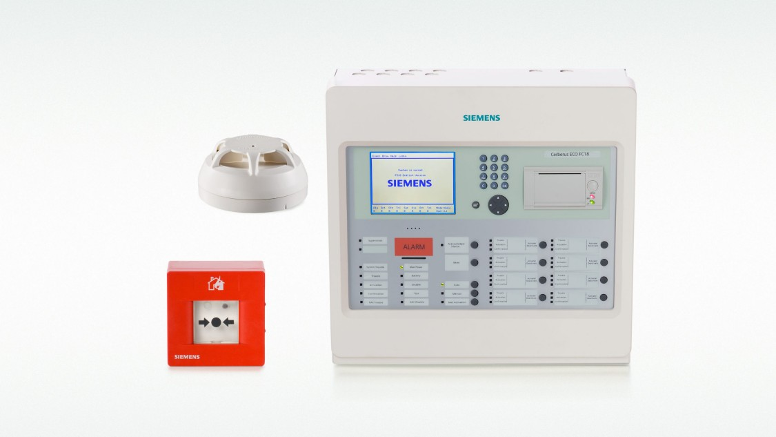 Siemens Cerberus ECO - fire protection system (GB)