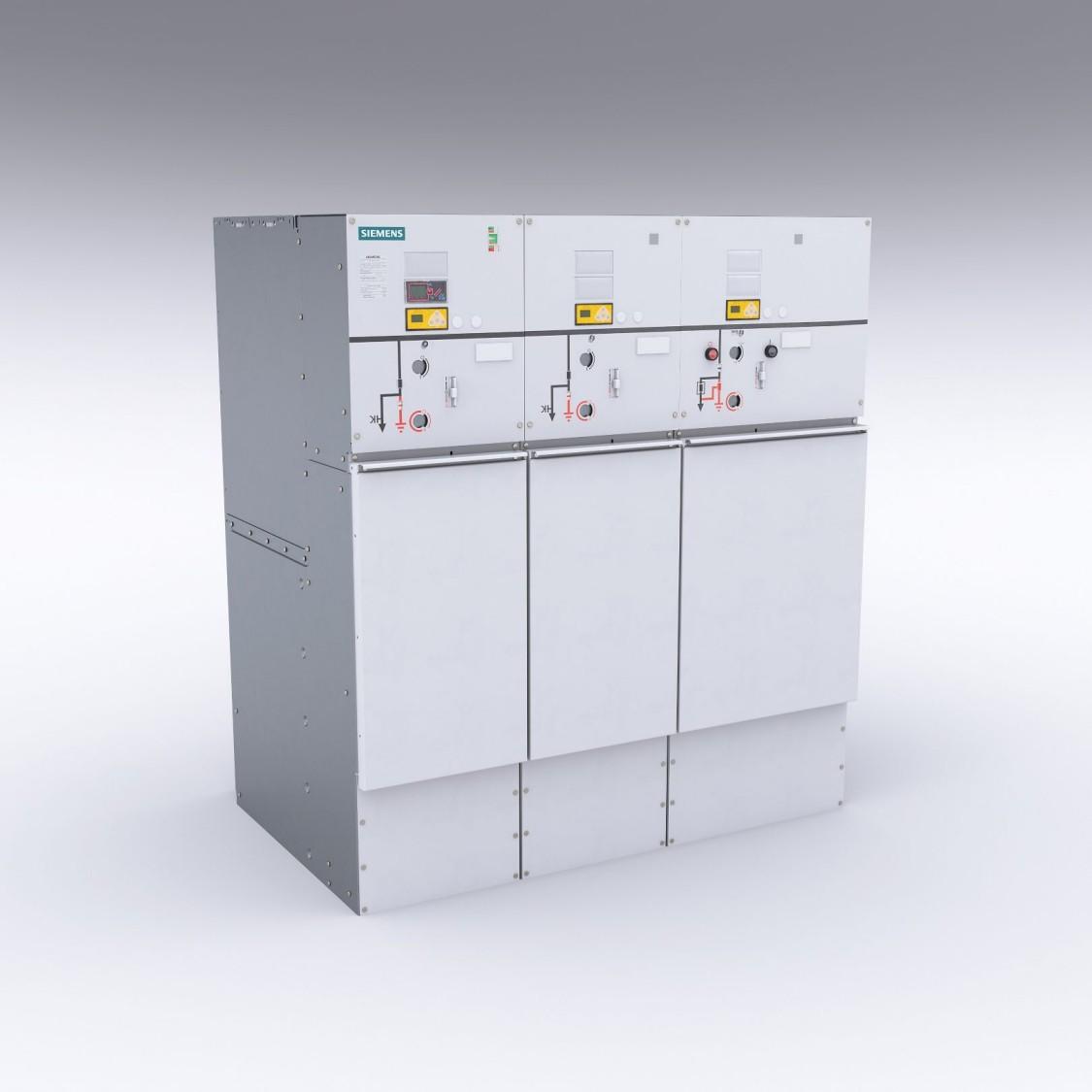 8DJH Rozdzielnica średniego napięcia 24 kV w izolacji gazowej