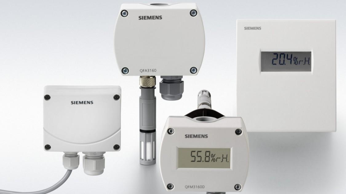 Sensores de humedad Siemens