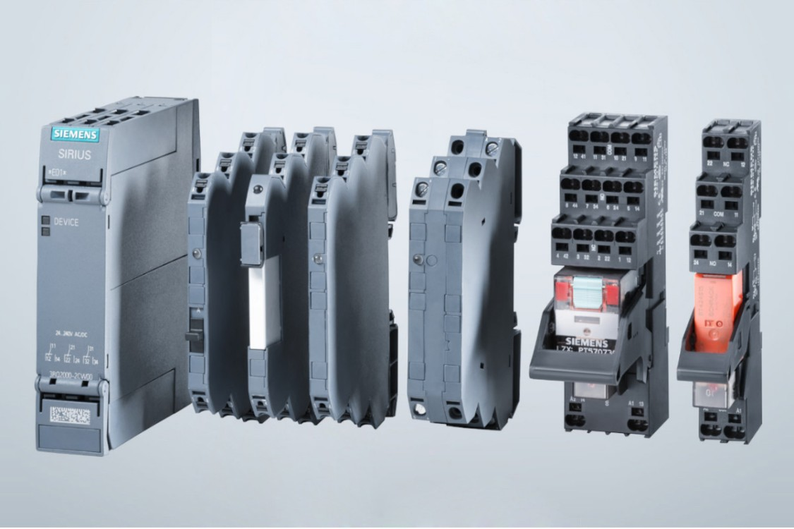 Coupling relays and signal converters