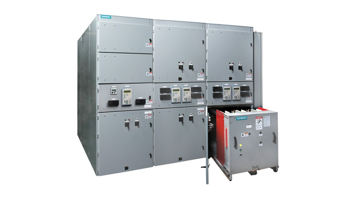 Siemens GM-SG medium-voltage non-arc-resistant switchgear