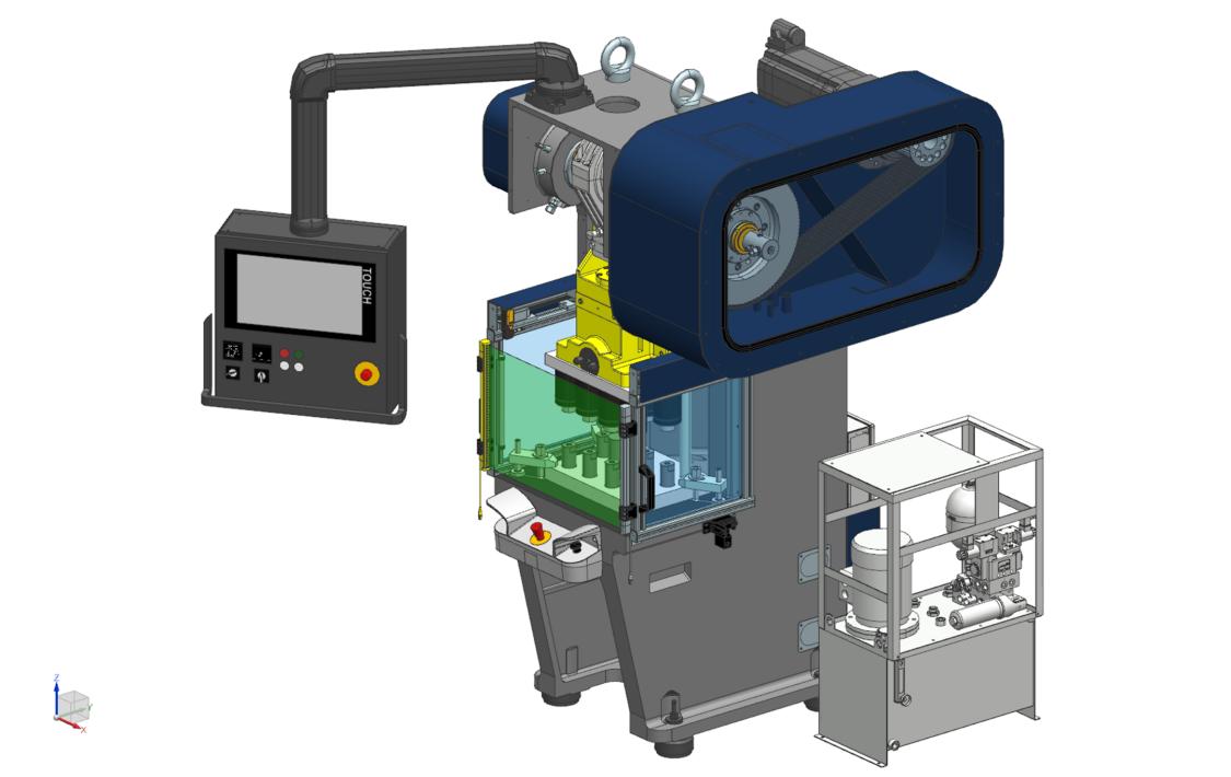 C-frame servo press