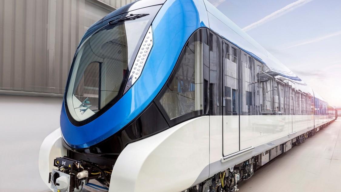 Metro Train in Saudi Arabia