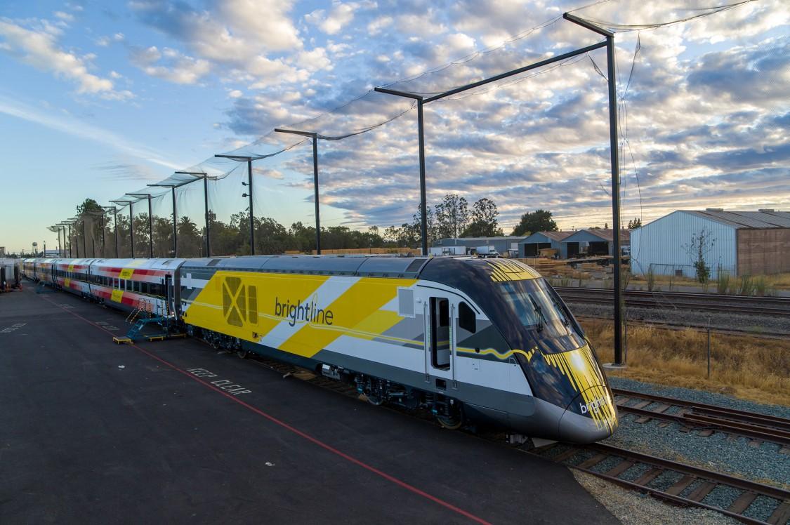 Brightline Train Sept 2021