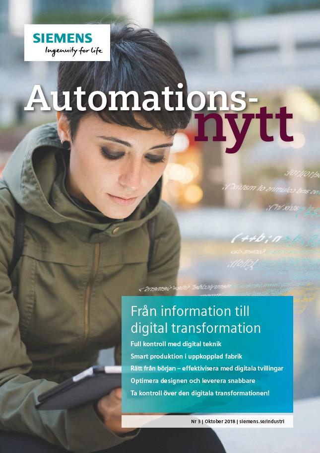 Automationsnytt Nr 3 | Oktober 2018