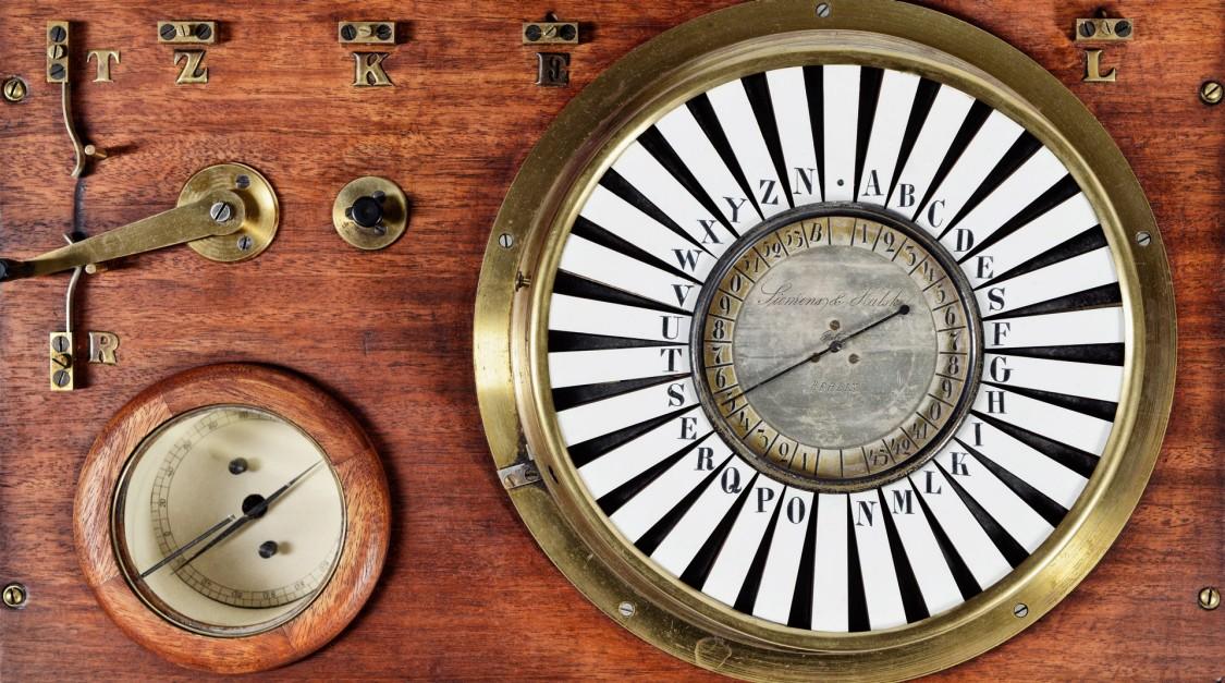 Siemens pointer telegraph, 1847