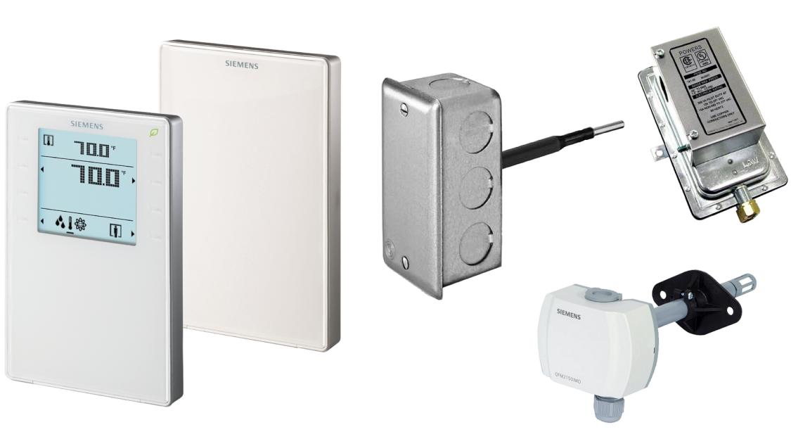 Climatix RTU Solution Sensors