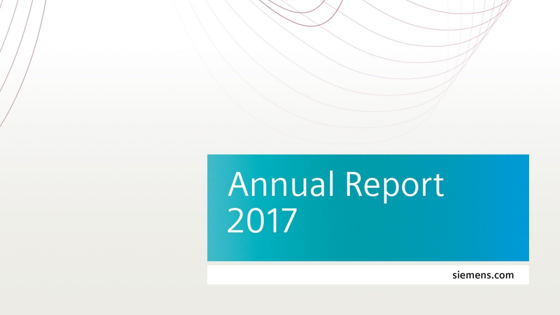 Siemens Annual Report 2017