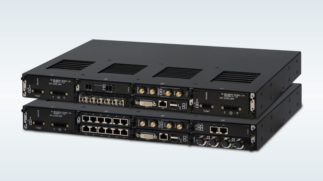 RUGGEDCOM RX1500 modular Layer 2 and Layer 3 switches