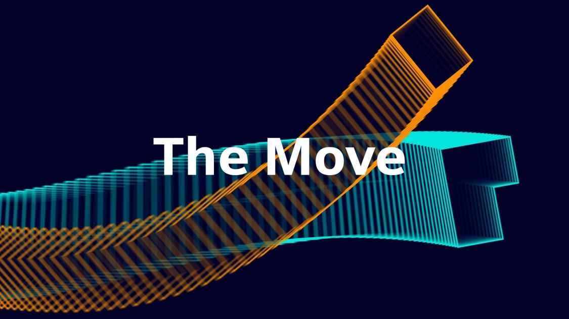 The Move Keyvisual - Büro der Zukunft
