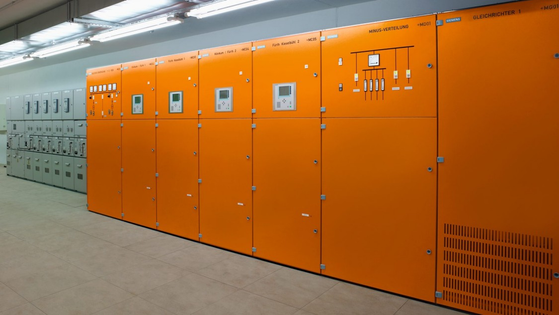 orange cubicles - Sitras DSG