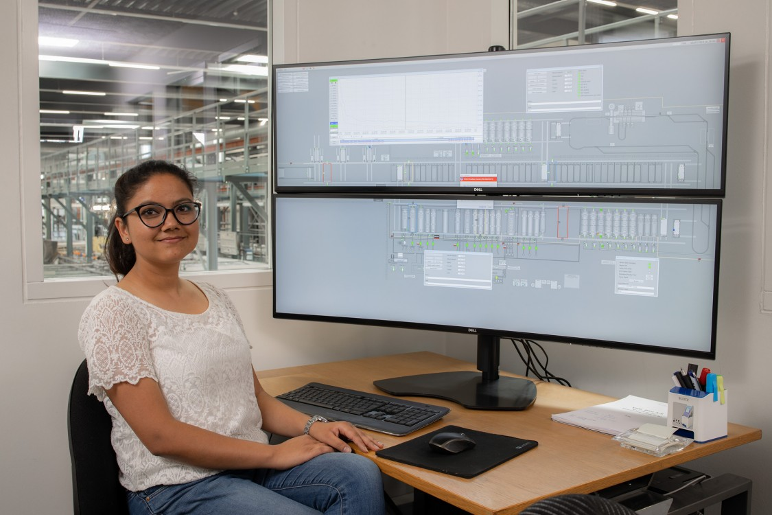 Portrait of Pooja Rawat, SCADA Engineer, Vald. Birn A/S