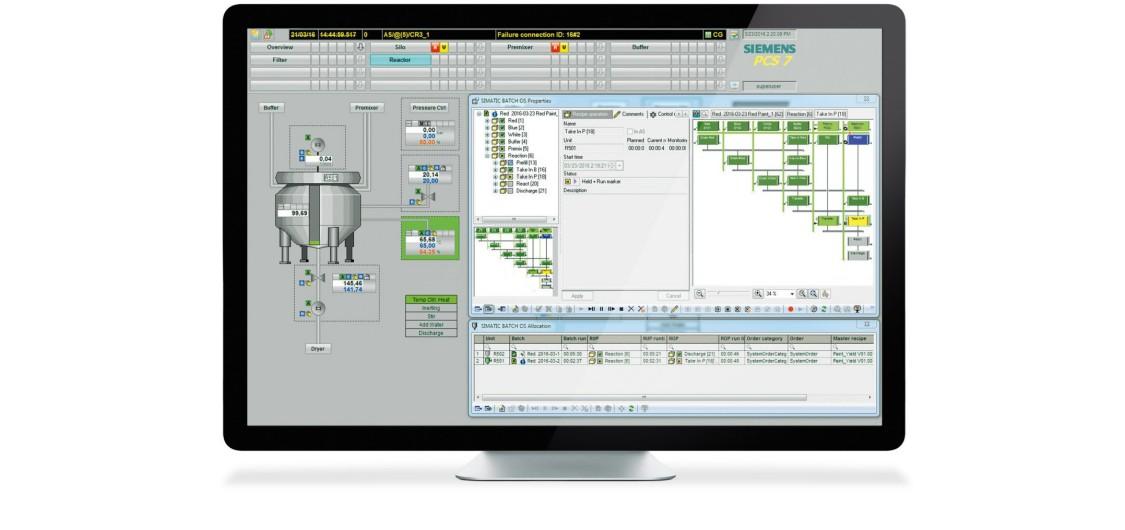 Новий поштовх для цифрового фармацевтичного виробництва завдяки SIMATIC BATCH