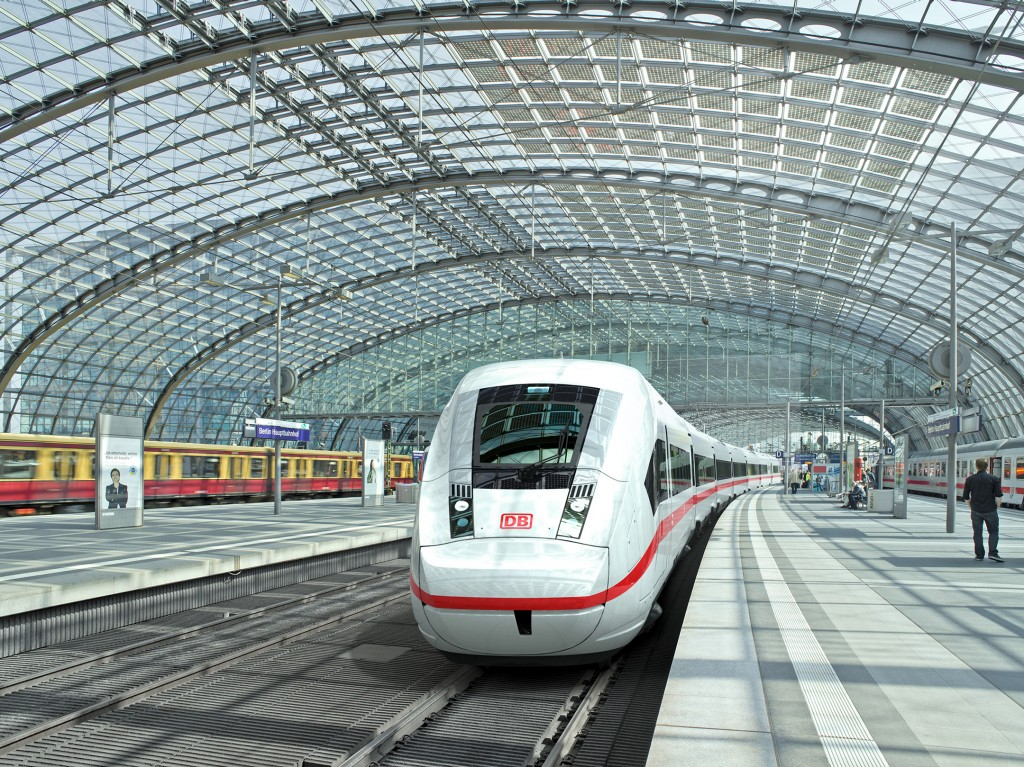 Largest order - Siemens is building ICE 4 trains for Deutsche Bahn