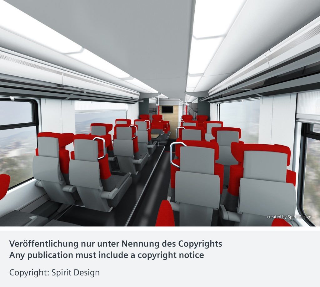 ÖBB presents designs for its new Desiro ML EMUs