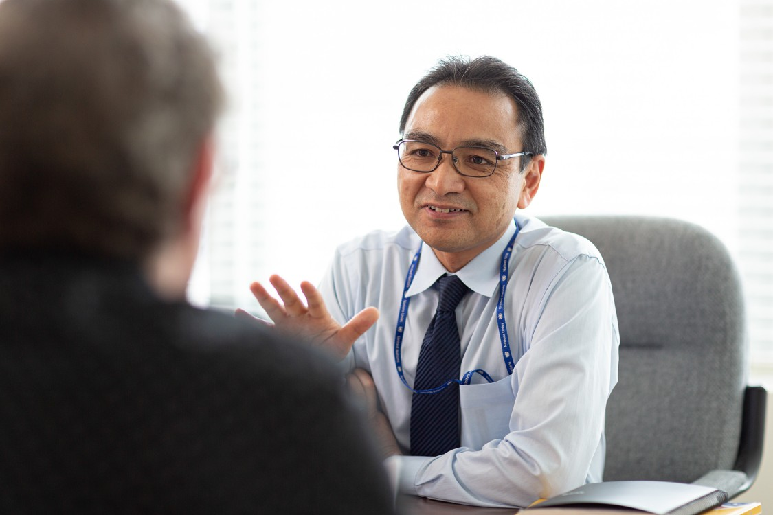 Minoru Takada on reaching carbon neutrality