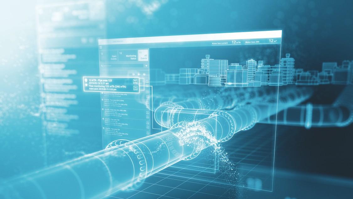 Det smarta sättet att minska vattenläckor med AI: SIWA LeakPlus  – en Siemenslösning driven av BuntPlanet
