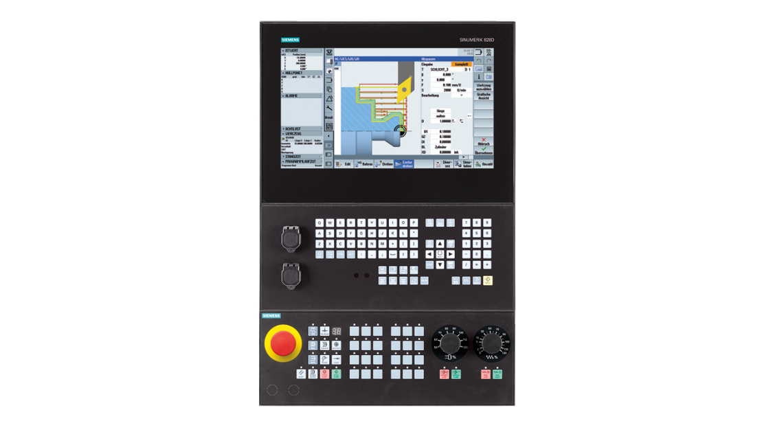 sinumerik machining - 828