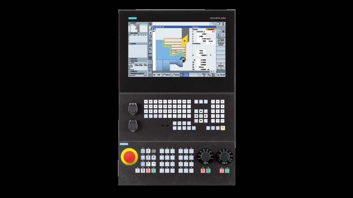 Kompakte CNC Steuerung SINUMERIK 828