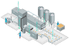 Siemens bakery and confectionery financing solutions on production line