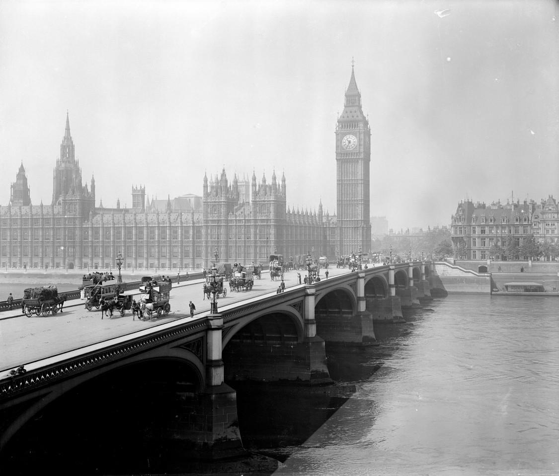 London, Westminster und Big Ben, nach 1881, AKG Images