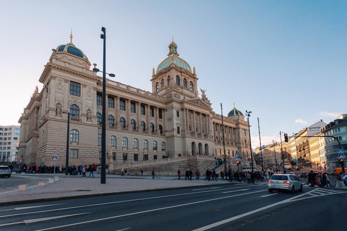 Budova Národního muzea, protipožární ochrana