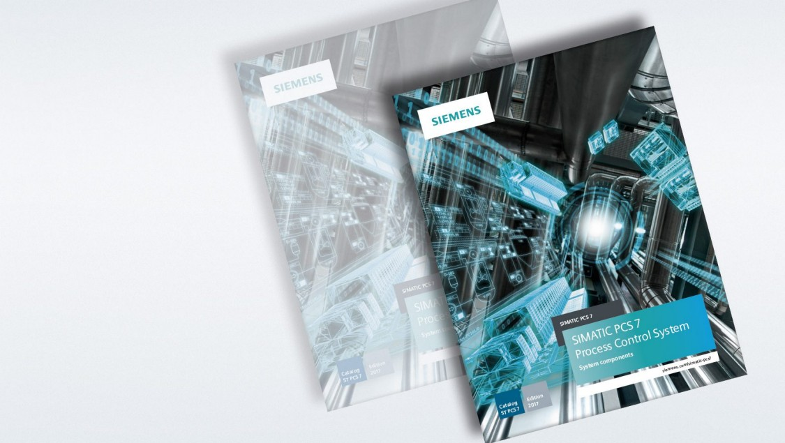 Download von Katalogen für SIMATIC PCS 7 und SIMATIC PCS neo