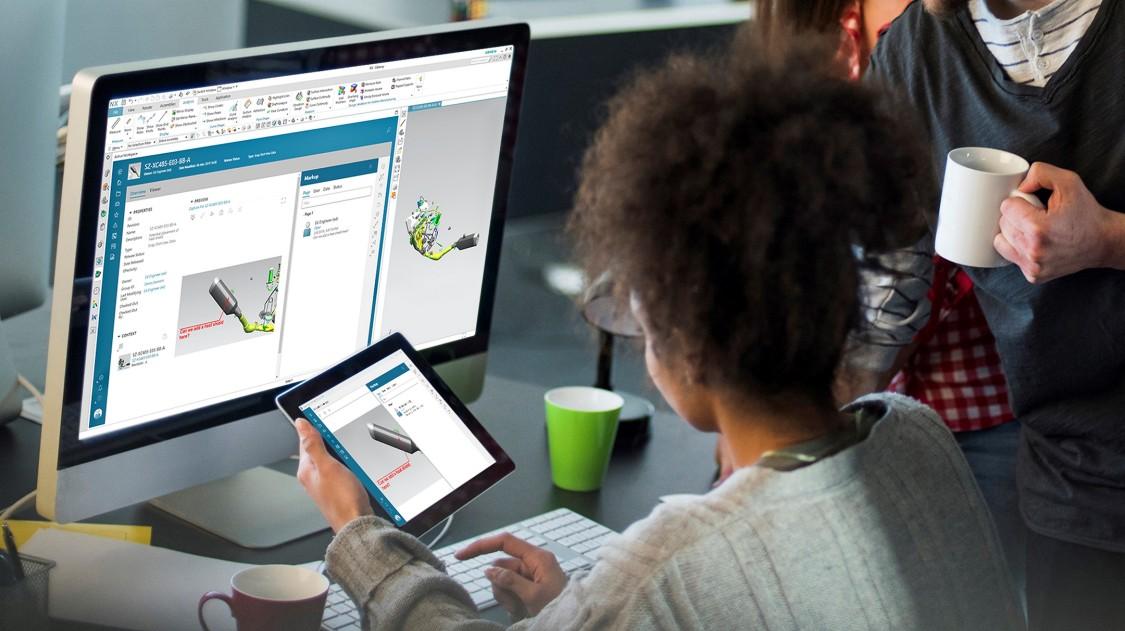 Dank digitaler Prototypen haben die Designer Veränderungen in Echtzeit vor Augen
