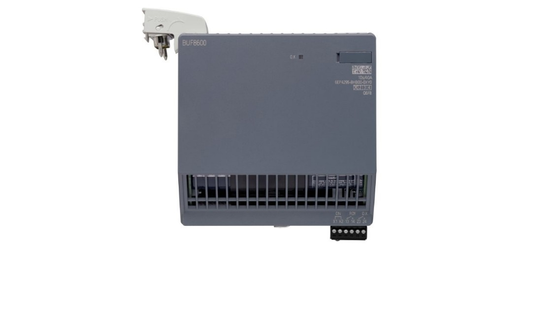 Buffering for longer power failures 10s/40A