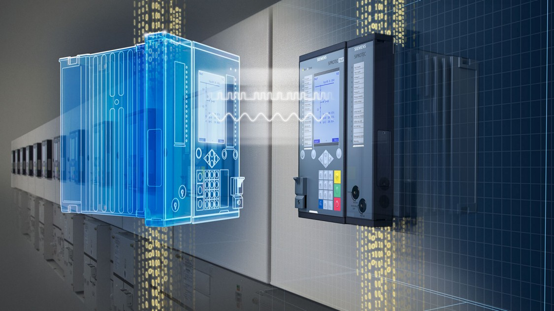 Digital twin by Siemens SIPROTEC 5