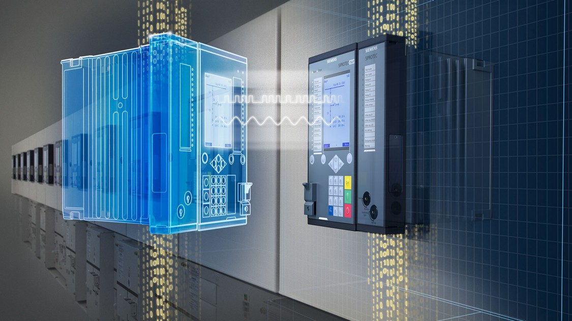 Protection relay - digital twin - SIPROTEC DigitalTwin