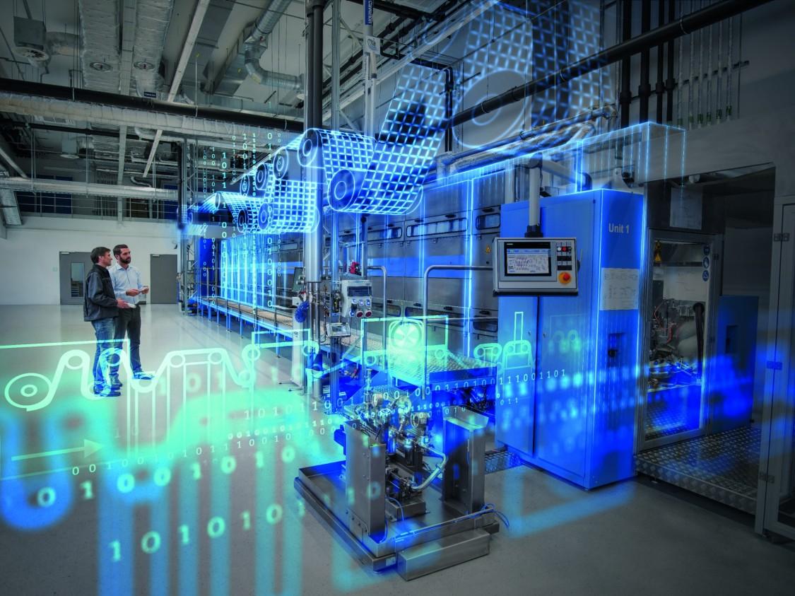 Siemens avec les constructeurs de machines